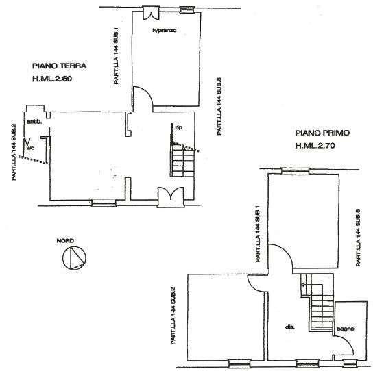 Planimetria 2/2 per rif. A19