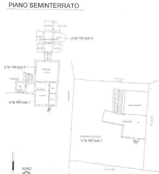 Planimetria 1/2 per rif. A19