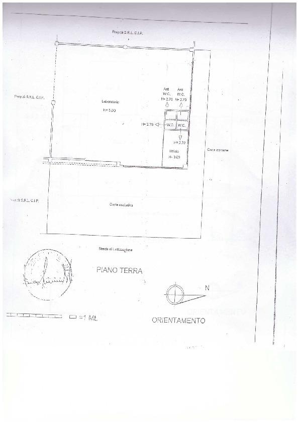 Planimetria 1/1 per rif. A54