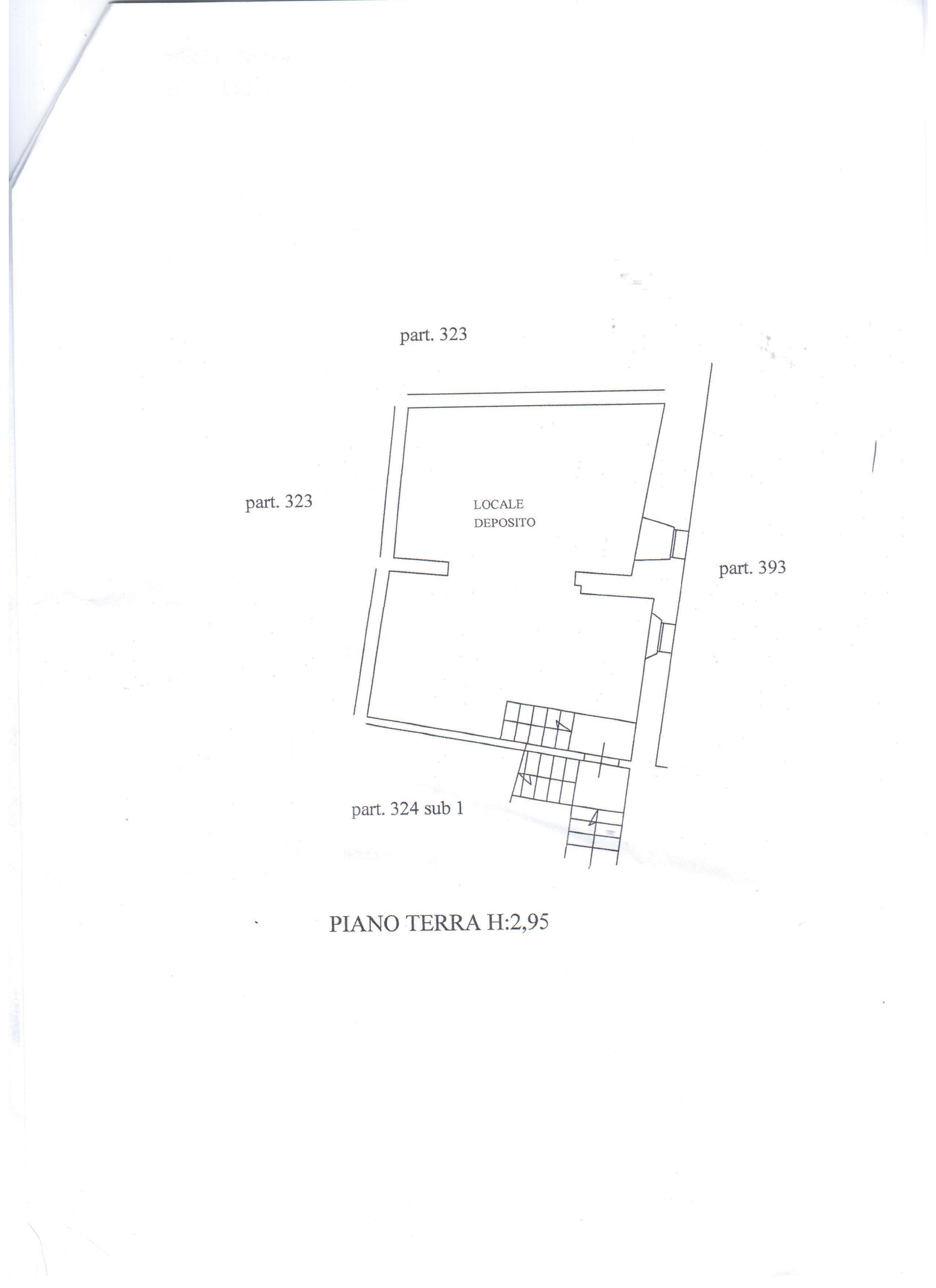 Planimetria 1/2 per rif. A31