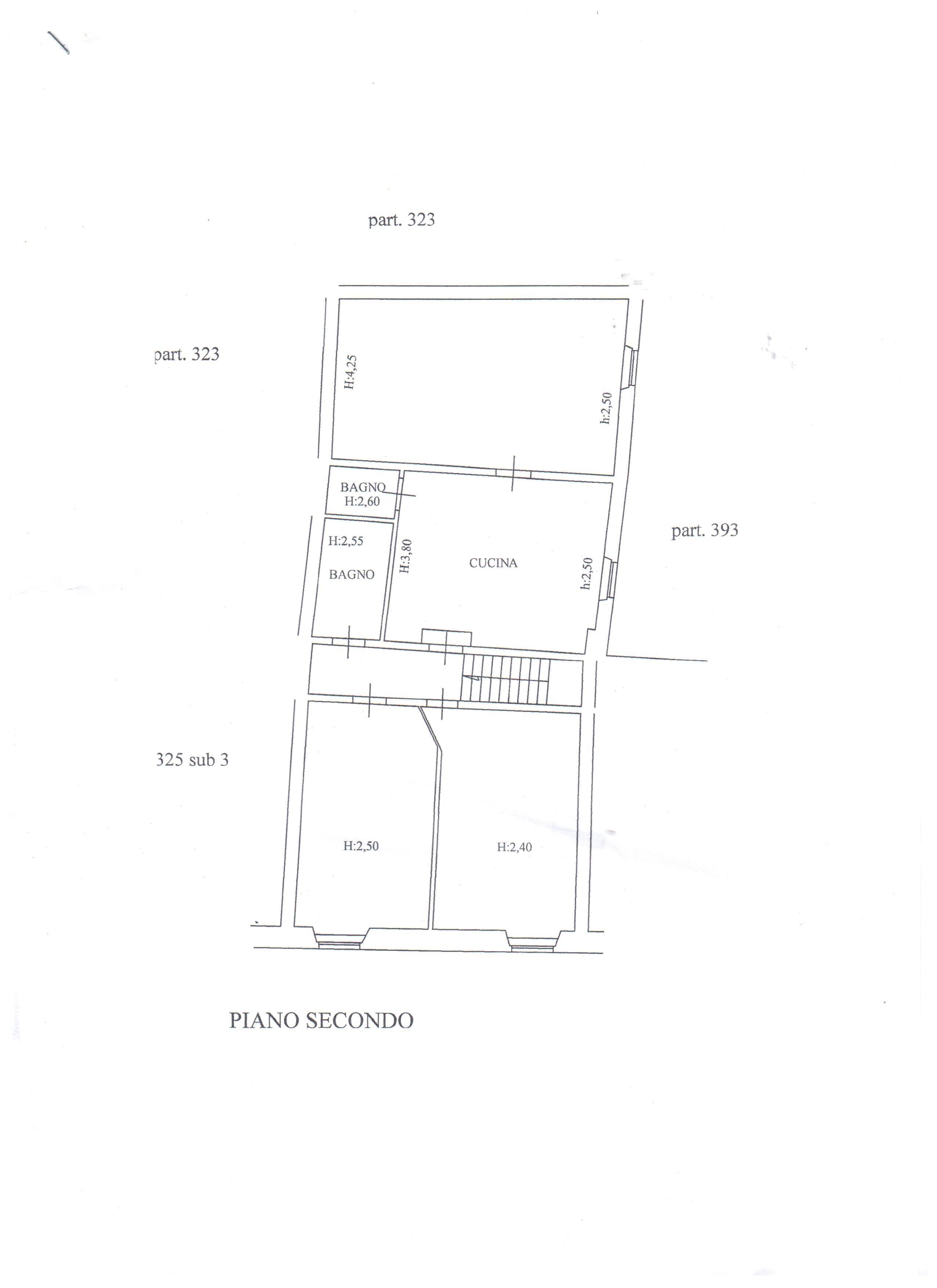 Planimetria 2/2 per rif. A31