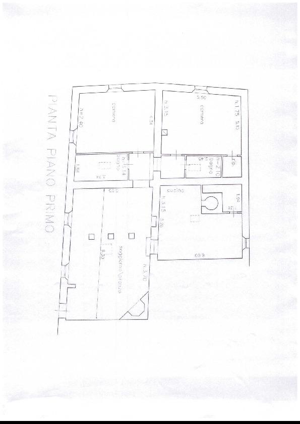 Planimetria 1/2 per rif. A72