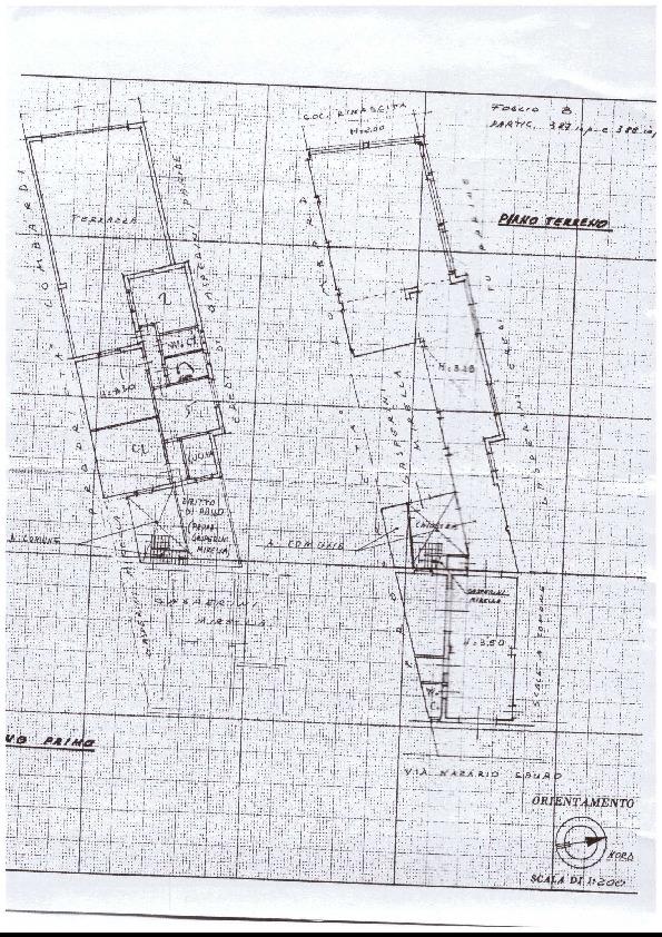 Planimetria 1/1 per rif. A86