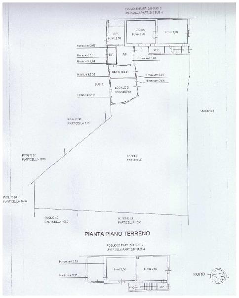 Planimetria 1/1 per rif. A28