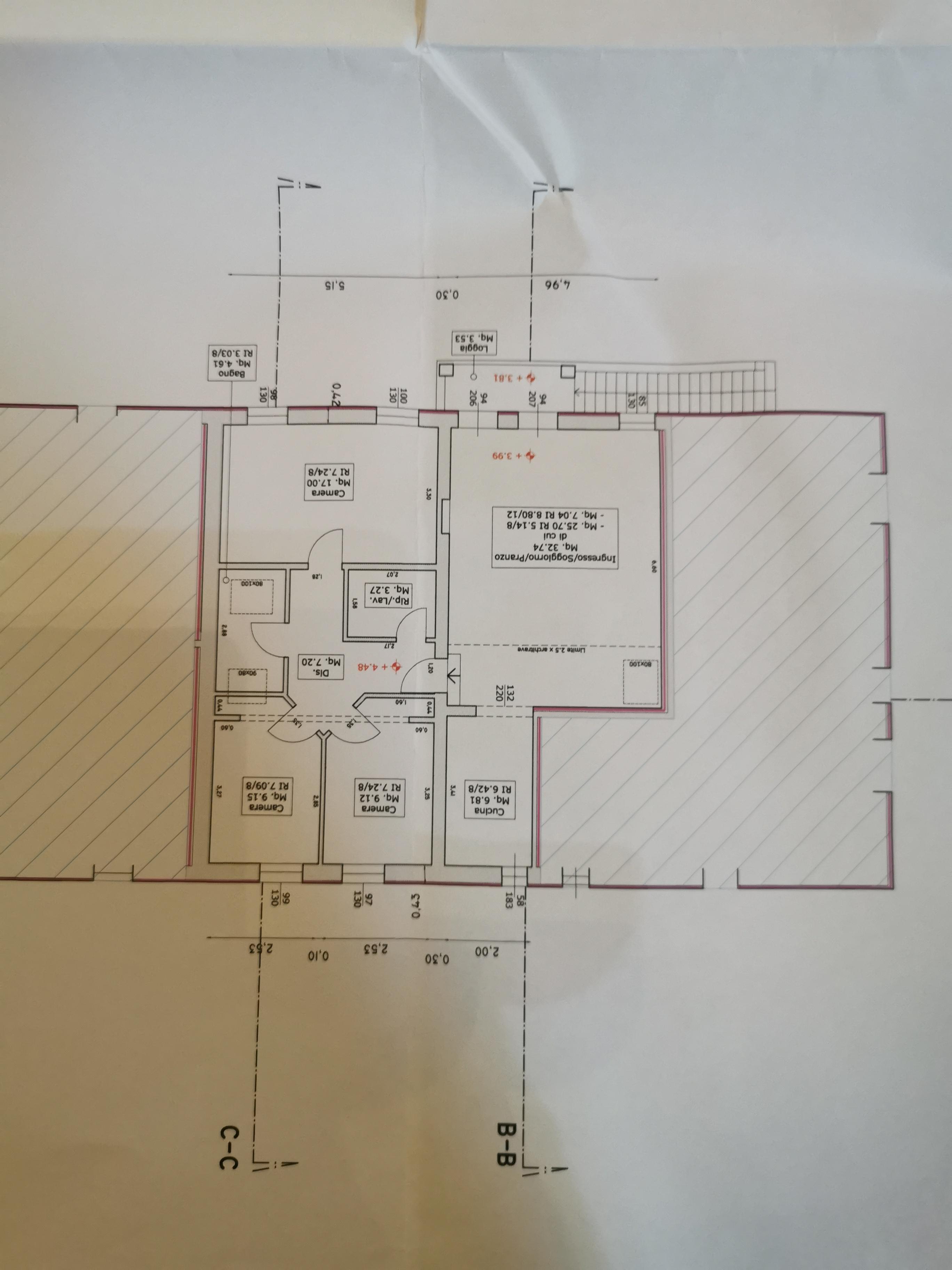 Planimetria 1/1 per rif. A69