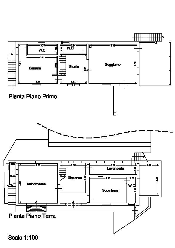 Planimetria 1/1 per rif. A12