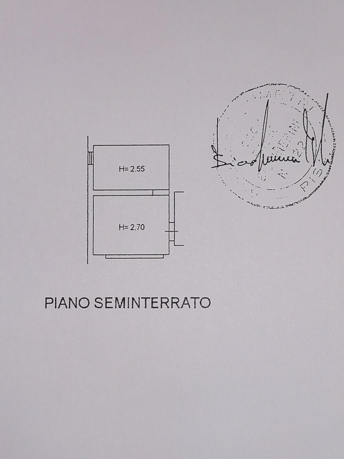 Planimetria 3/3 per rif. A16