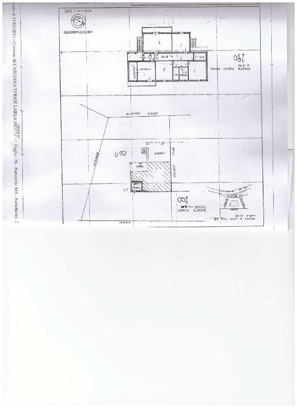 Planimetria 1/1 per rif. A45