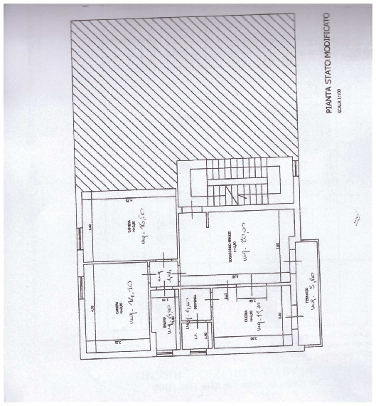 Planimetria 1/1 per rif. A20