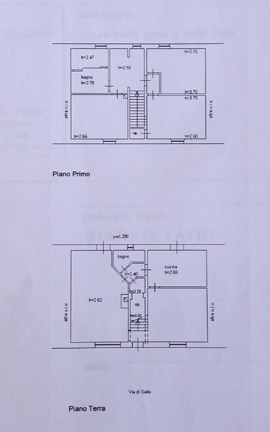 Planimetria 1/1 per rif. A18