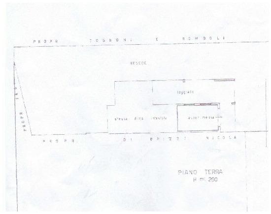 Planimetria 2/2 per rif. A70