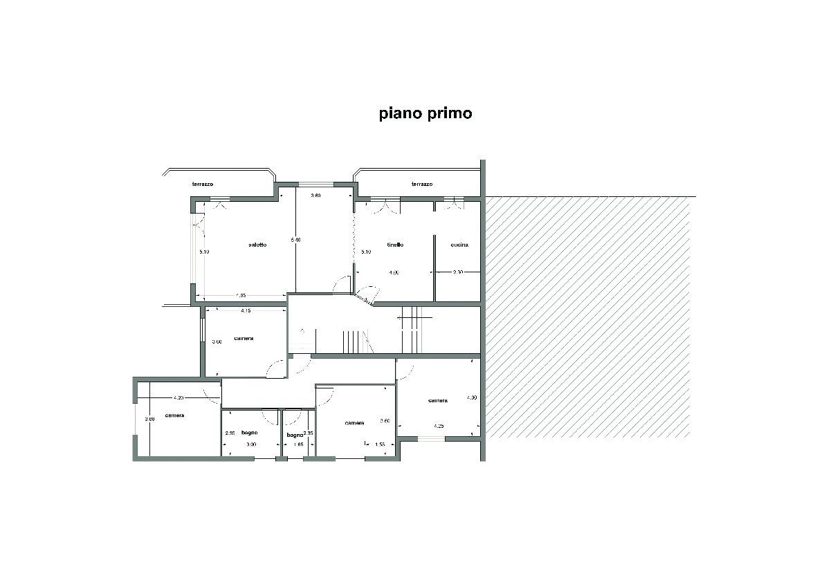 Planimetria 2/4 per rif. A82