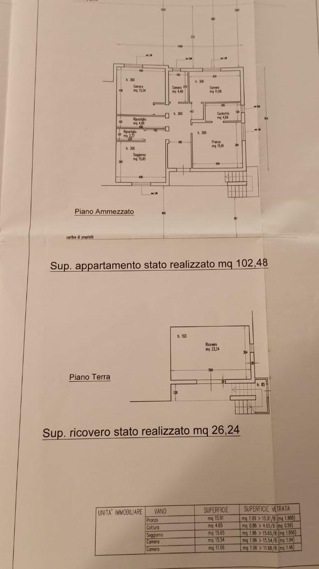 Planimetria 1/1 per rif. A15