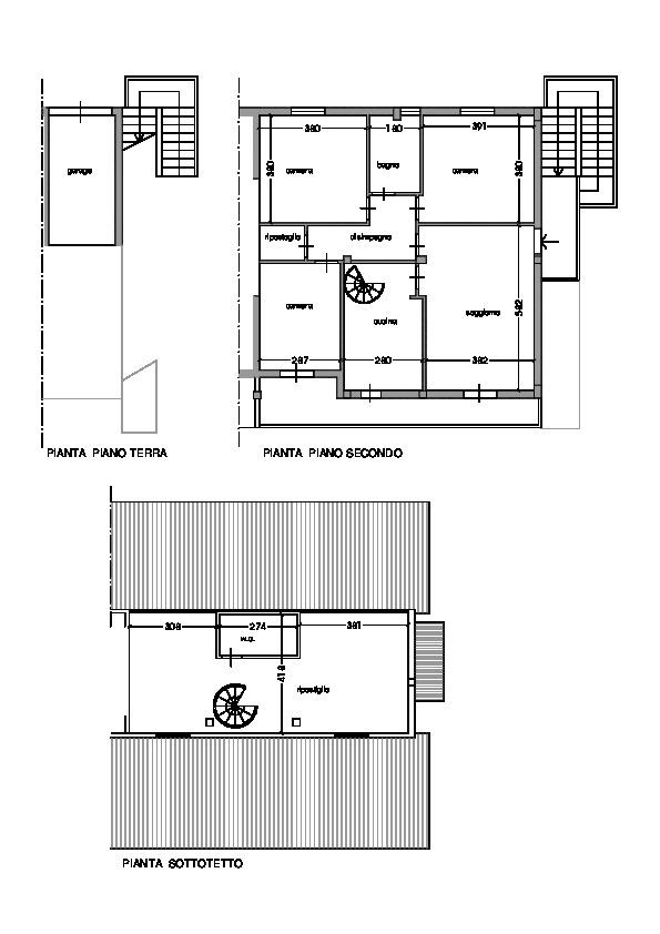 Planimetria 1/1 per rif. A100