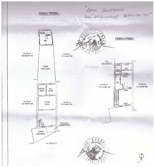 Planimetria 1/1 per rif. A08