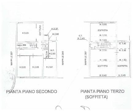 Planimetria 1/1 per rif. A56