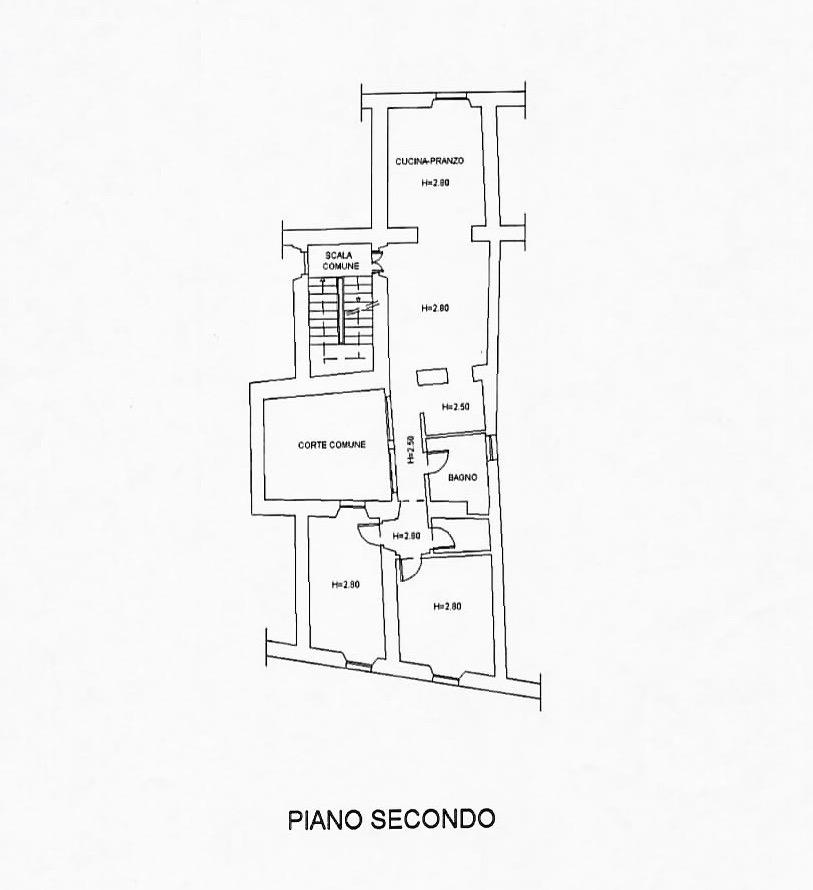 Planimetria 1/1 per rif. 378