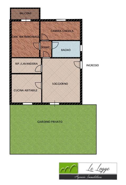 Planimetria 1/1 per rif. LOG-261