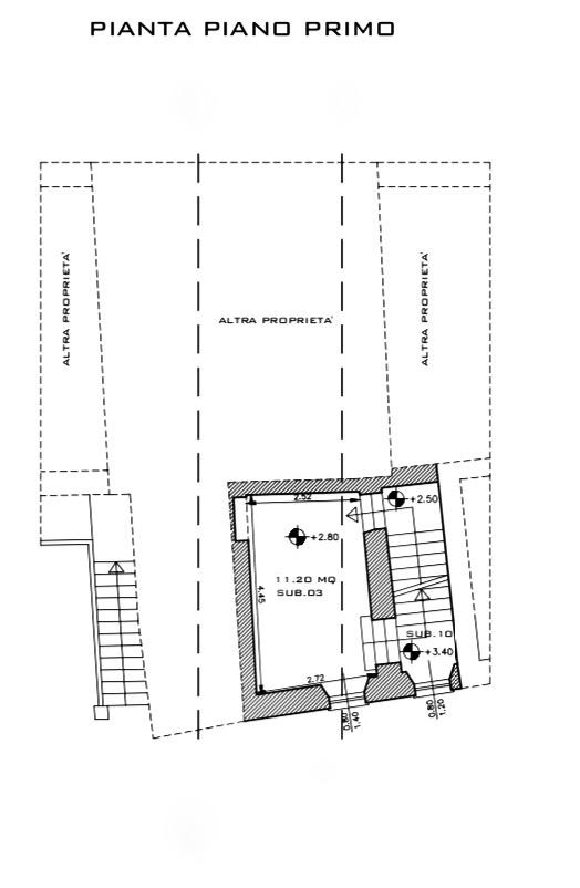 Planimetria 1/2 per rif. LOG-310