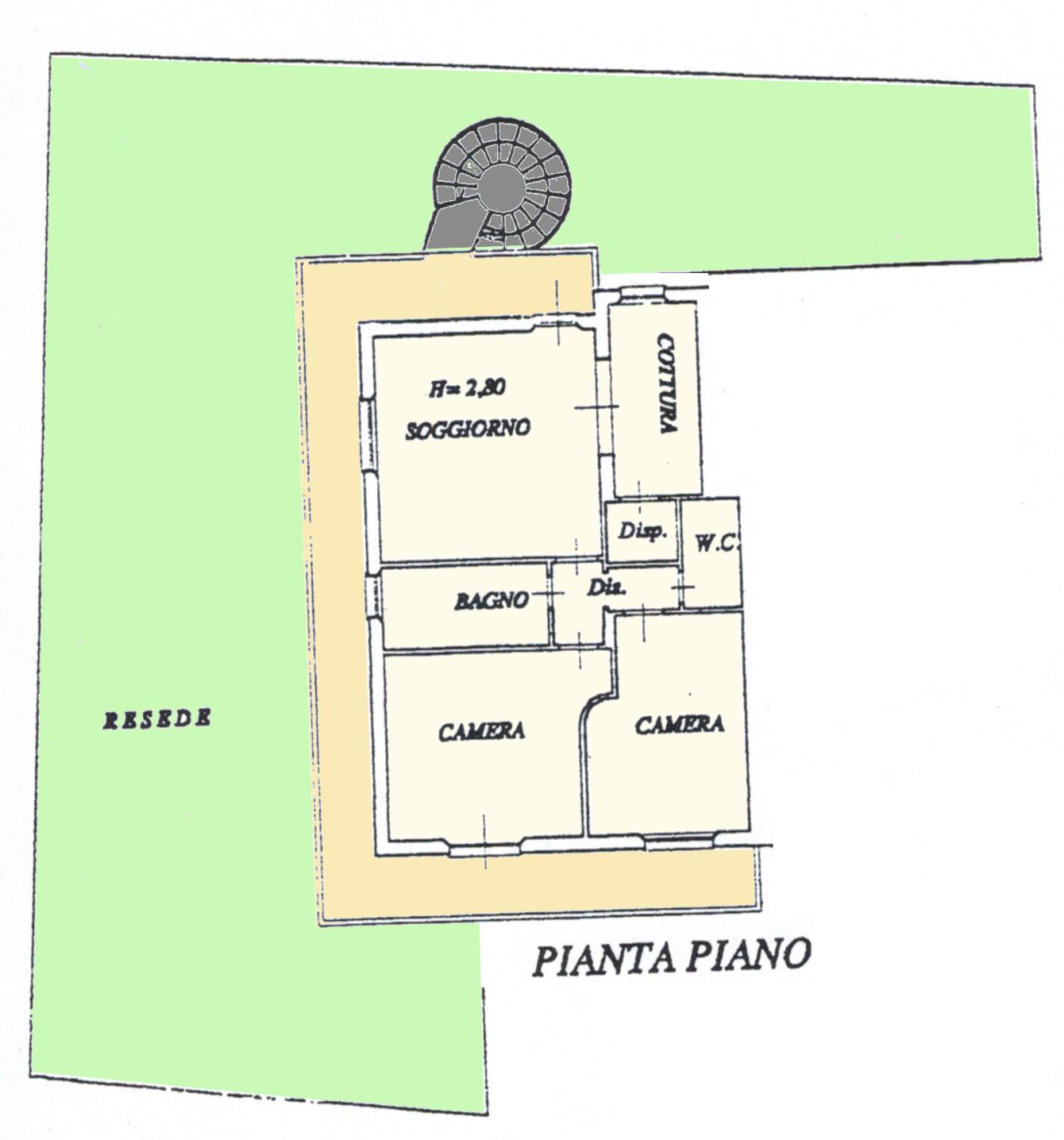 Planimetria 1/1 per rif. LOG-326