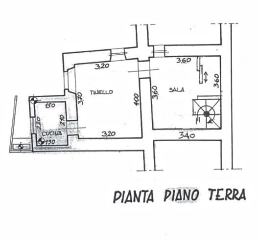 Planimetria 1/3 per rif. LOG-353