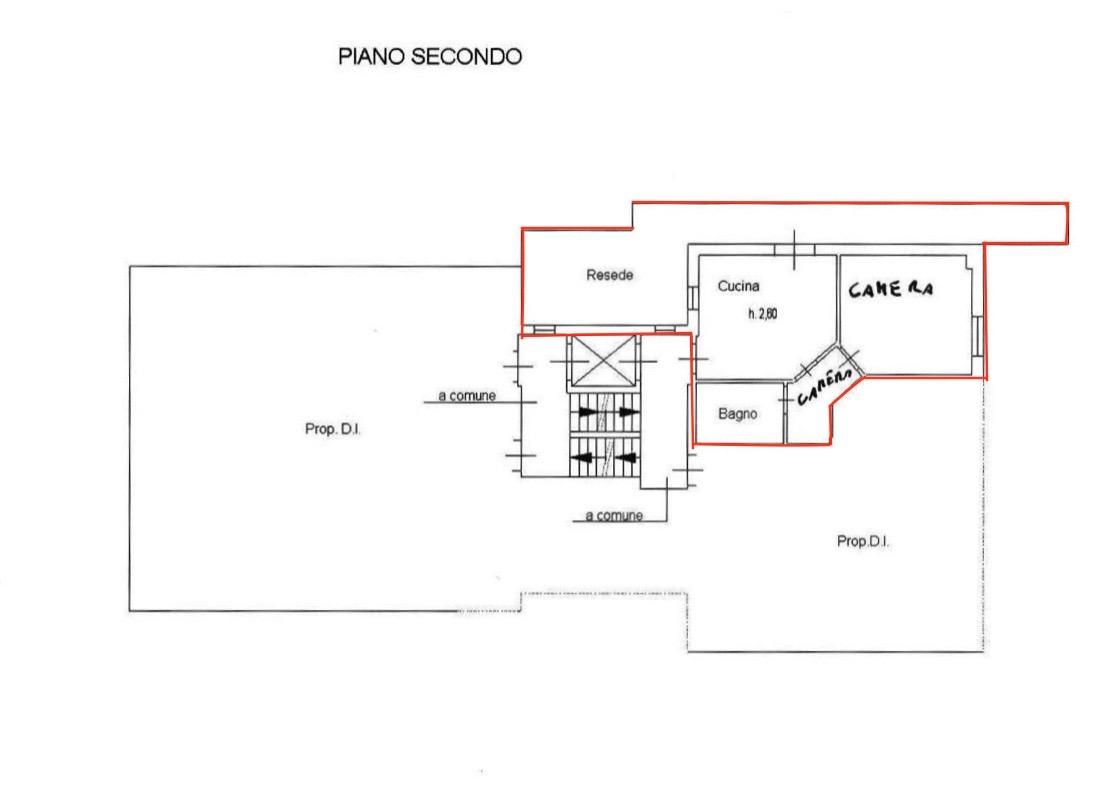 Planimetria 1/1 per rif. LOG-358