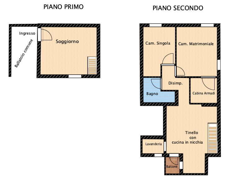 Planimetria 1/1 per rif. MLS-030