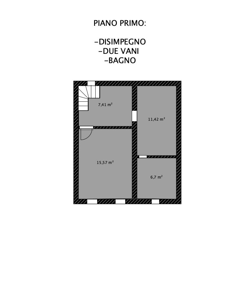 Planimetria 2/4 per rif. LOG-431