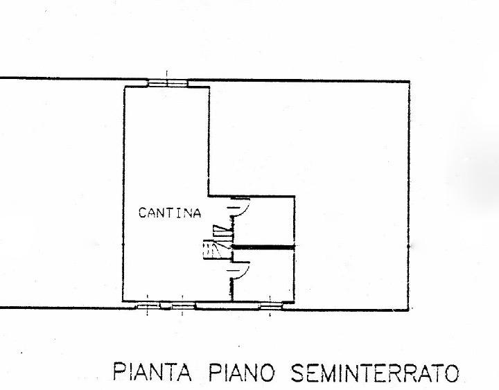 Planimetria 2/2 per rif. CLA-003
