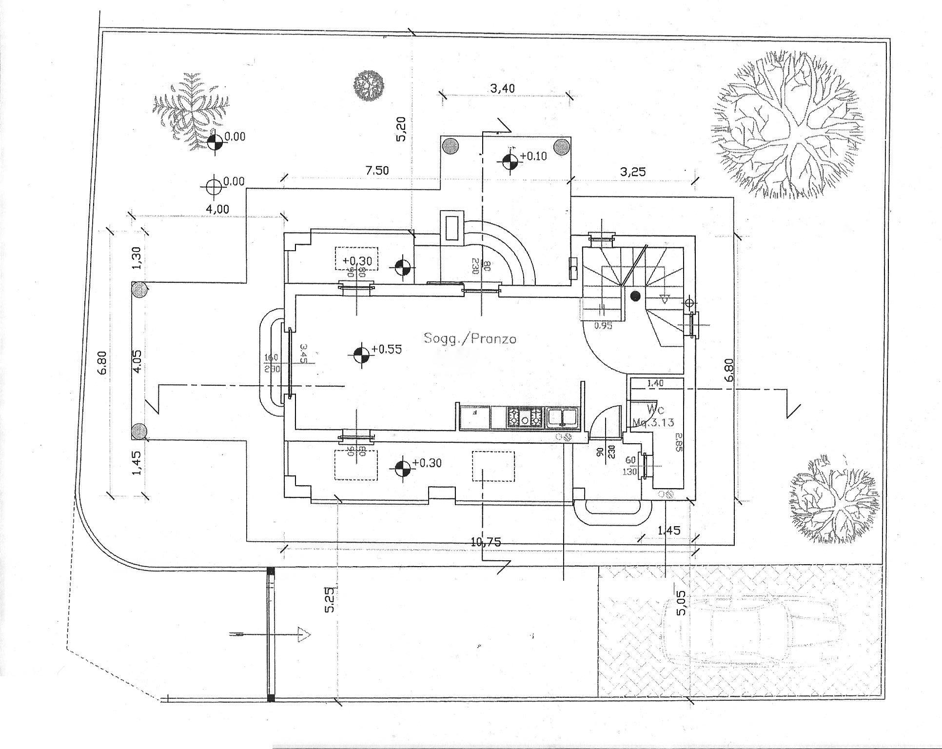 Planimetria 2/2 per rif. LOG-442