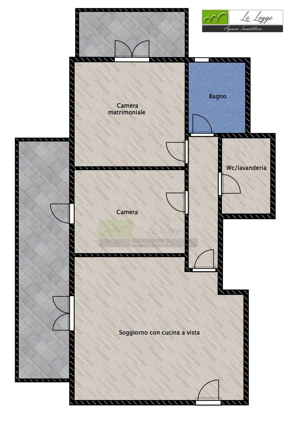 Planimetria 1/1 per rif. LOG-449