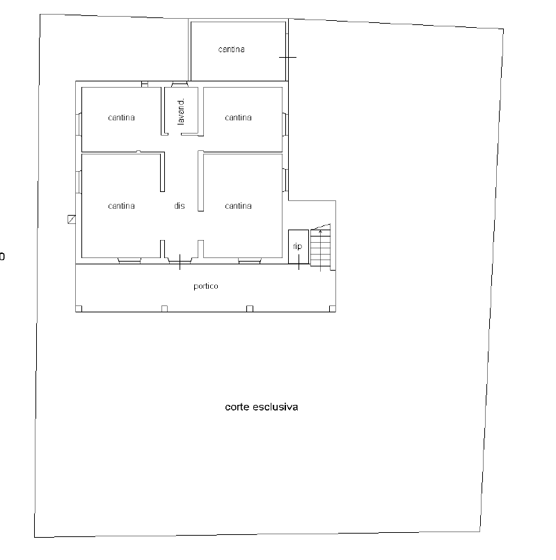 Planimetria 3/3 per rif. CLA-009