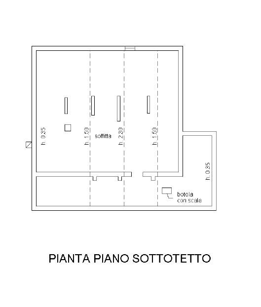 Planimetria 1/3 per rif. CLA-009