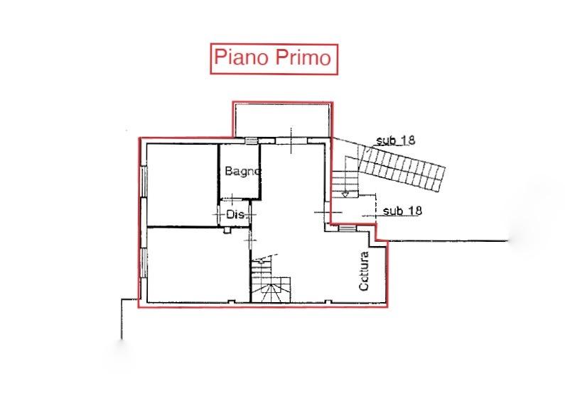 Planimetria 1/2 per rif. LOG-458