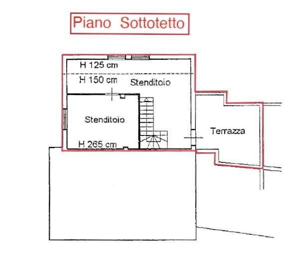 Planimetria 2/2 per rif. LOG-458