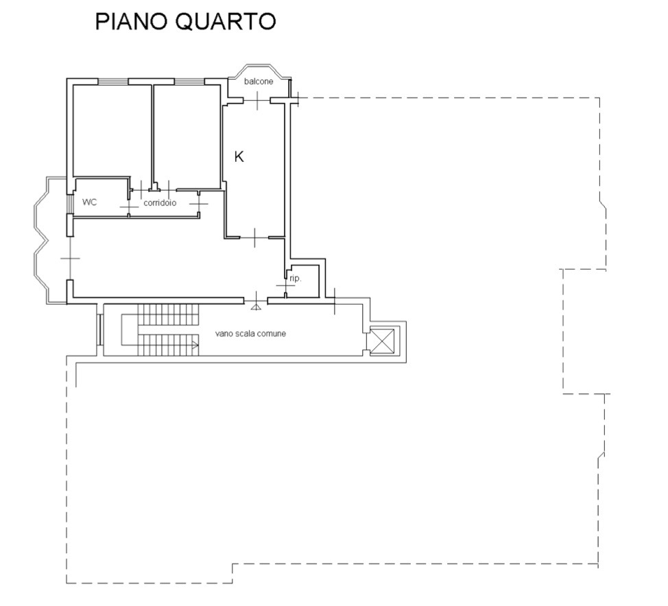 Planimetria 1/1 per rif. LOG-472