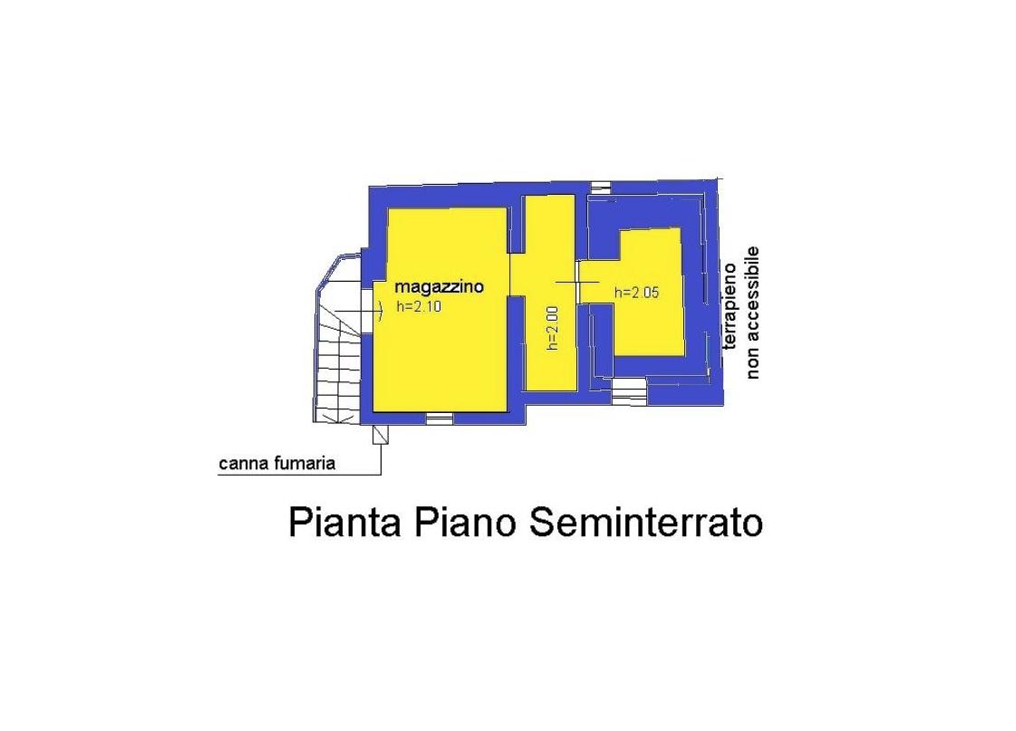 Planimetria 1/4 per rif. LOG-474
