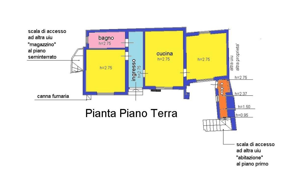 Planimetria 2/4 per rif. LOG-474