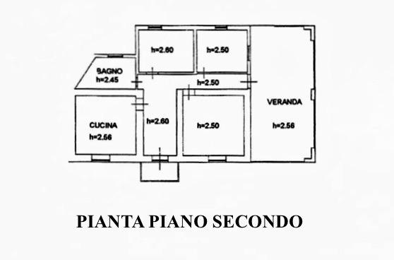 Planimetria 2/5 per rif. MLS-021