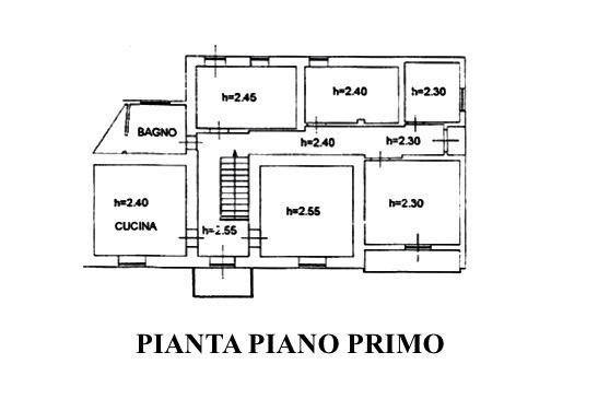 Planimetria 1/5 per rif. MLS-021