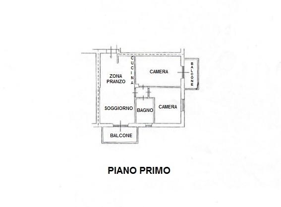 Planimetria 1/1 per rif. LOG-487