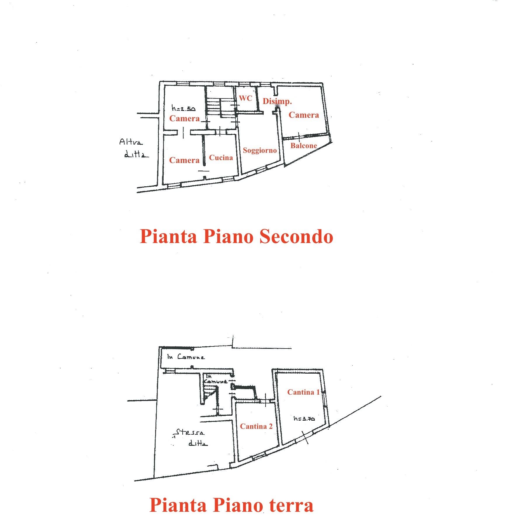 Planimetria 1/1 per rif. LOG-490