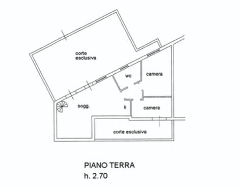 Planimetria 1/2 per rif. LOG-491