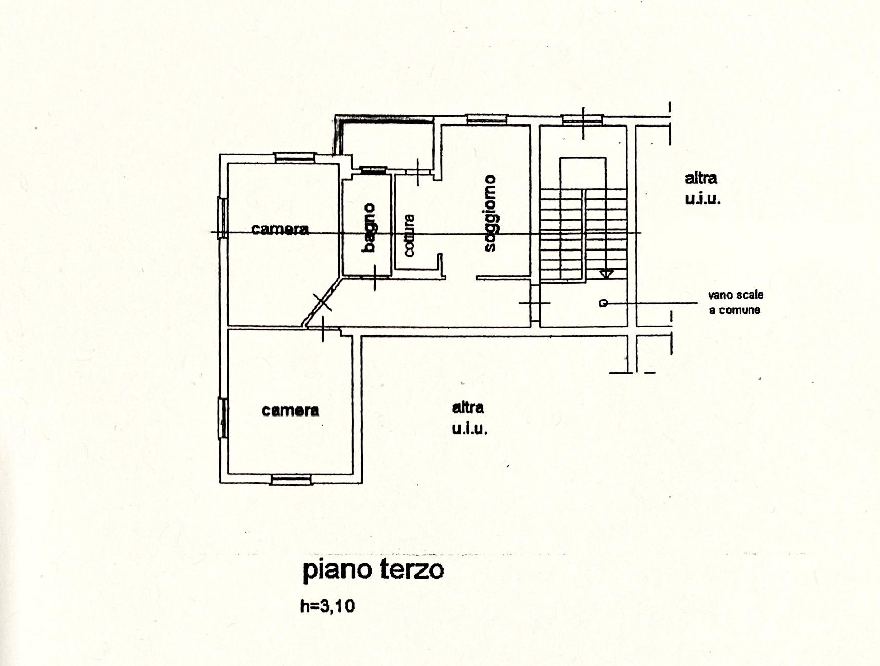 Planimetria 1/1 per rif. LOG-521