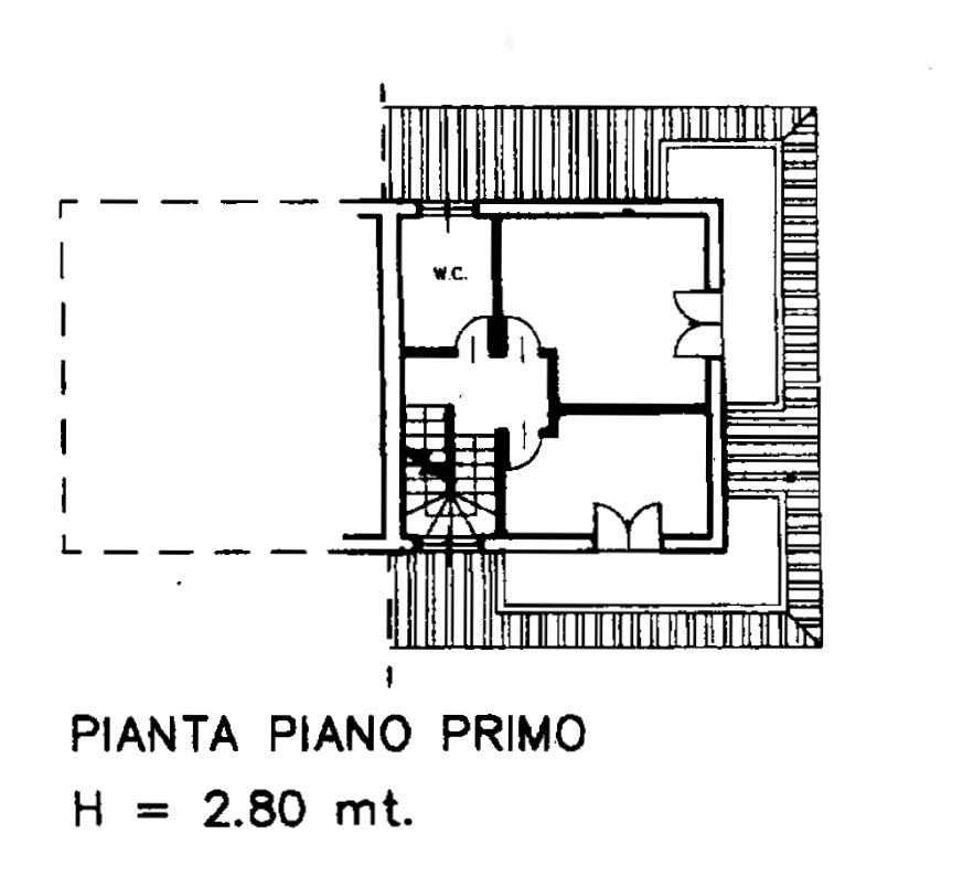 Planimetria 3/4 per rif. LOG-528