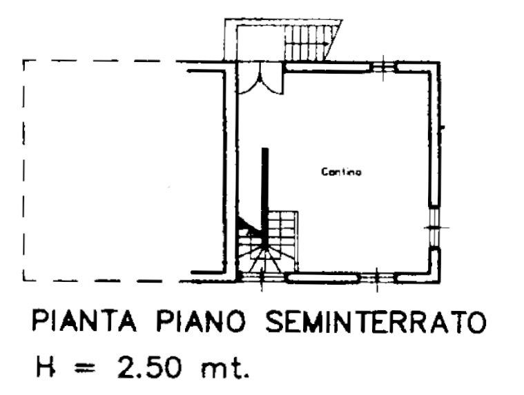 Planimetria 1/4 per rif. LOG-528