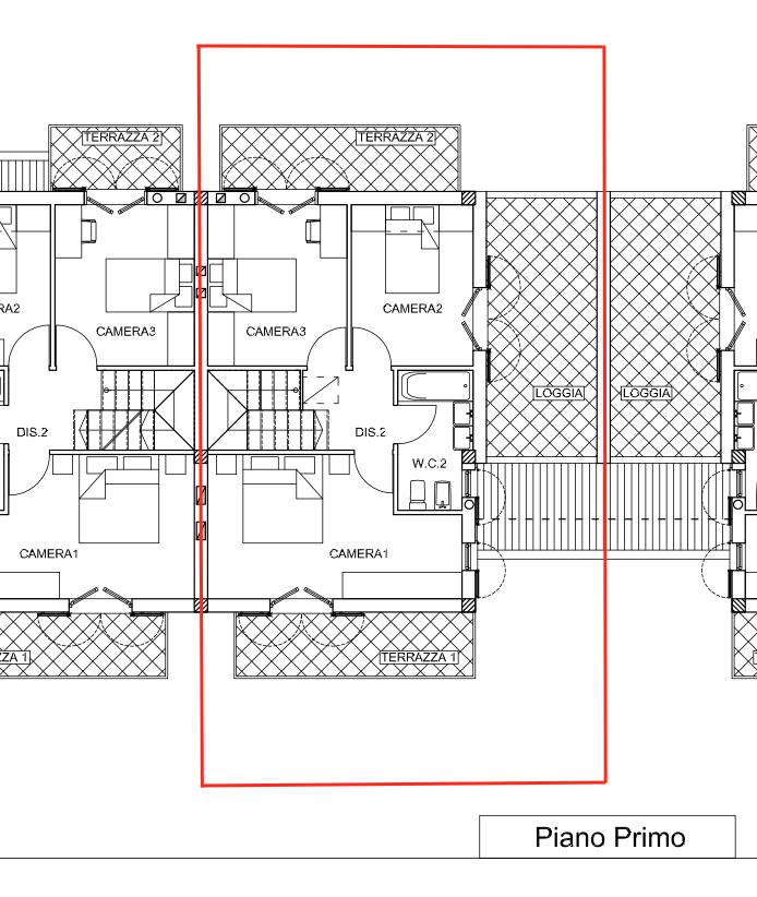 Planimetria 2/2 per rif. MLS-303