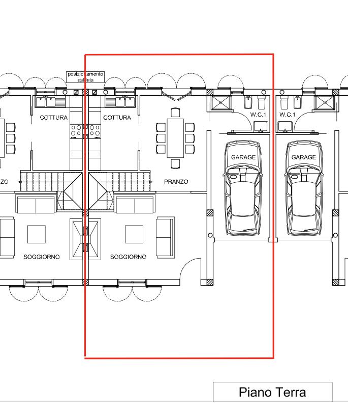 Planimetria 1/2 per rif. MLS-303