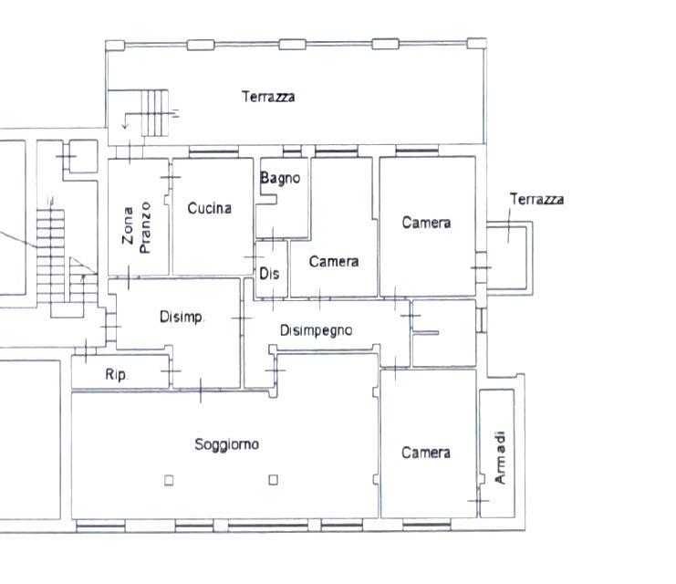 Planimetria 1/1 per rif. LOG-564