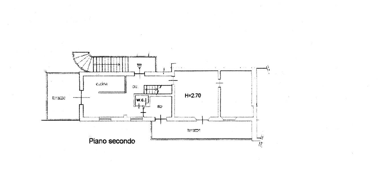 Planimetria 1/2 per rif. 321